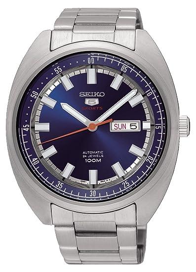 Seiko Reloj Analogico para Hombre de Mecánico con Correa en Acero Inoxidable SRPB15K1: Amazon.es: Relojes