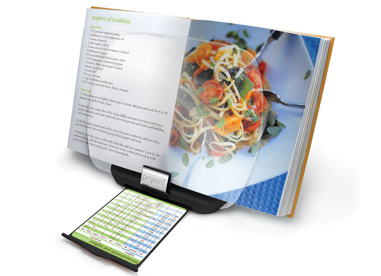 Prepara Chef's Center Cookbook / iPad Holder, Set of 3