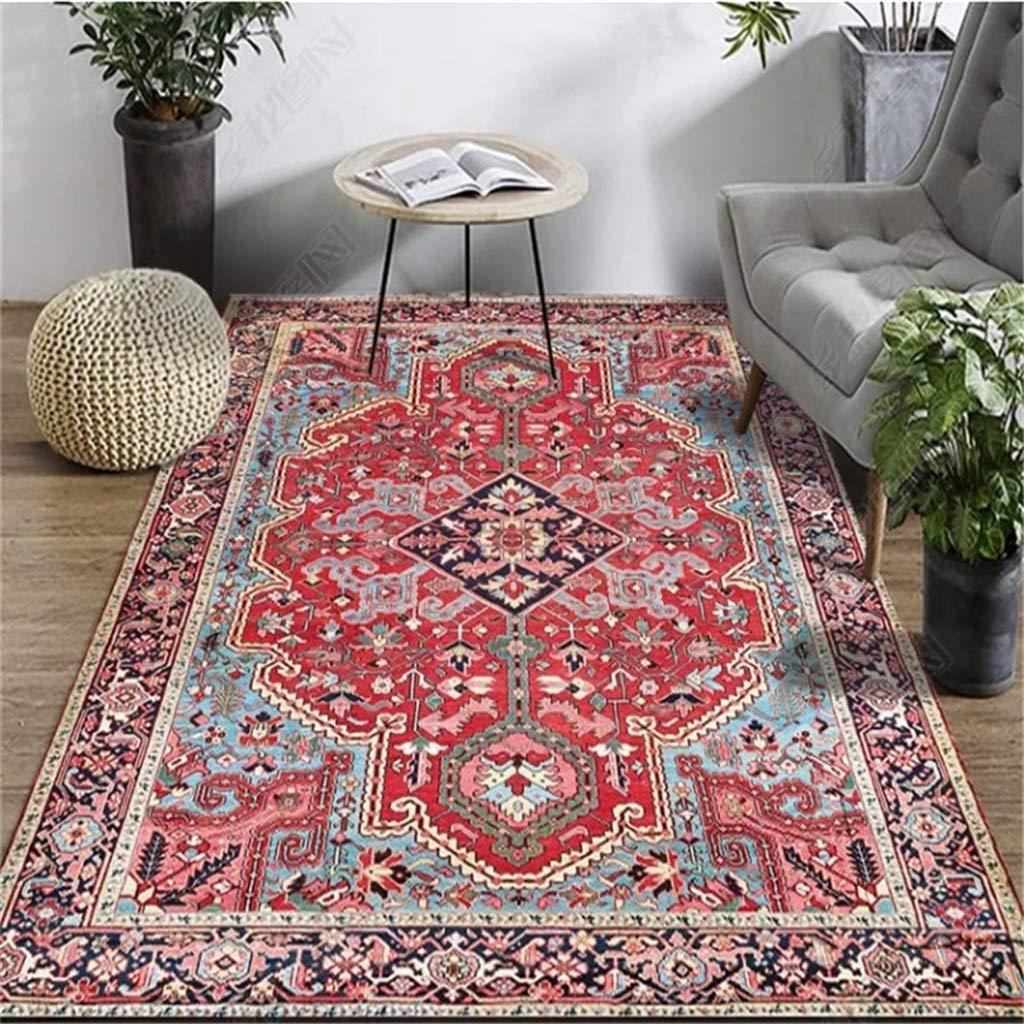 Rugs For Bedroom National Wind Floor Mat Retro Carpet Living Room Coffee Table Mat Bedroom Bedside Blanket