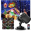 MOWASS Outdoor LED Snowflakes Christmas LED Projector Lights