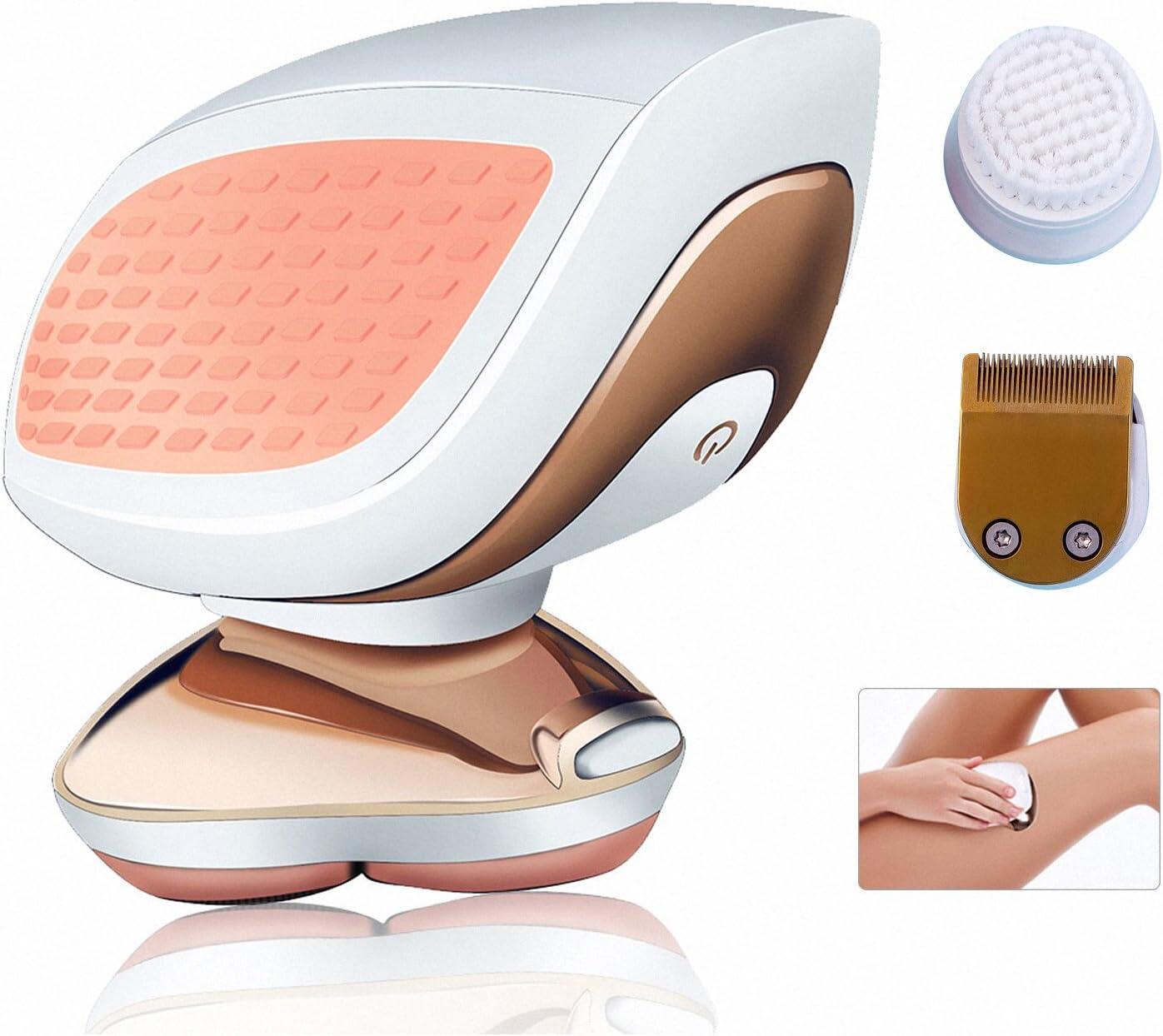 HATTEKER - Afeitadora eléctrica para mujeres, afeitadora de pelo ...