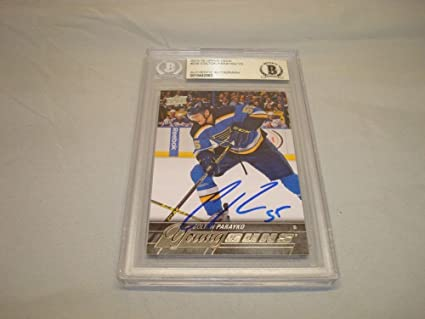 Image Unavailable. Image not available for. Color  Colton Parayko Signed ... 8f301cc51