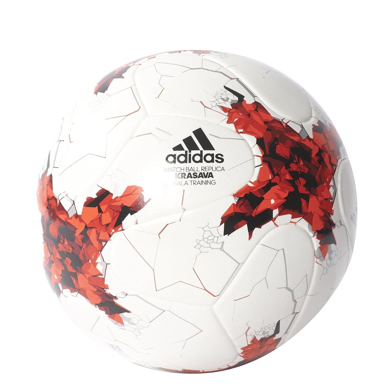 Adidas confedsalatrn Balles (palets, boules)-Mixte–Blanc/brired/Red/Blac Adidas Confed Sala Football One Size ADIEY|#adidas AZ3203