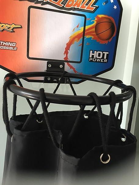Aro de baloncesto ropa sucia lavandería cesta bolsa Shoot - la ...