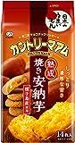 不二家 カントリーマアム(熟成焼き安納芋) 14枚×5袋
