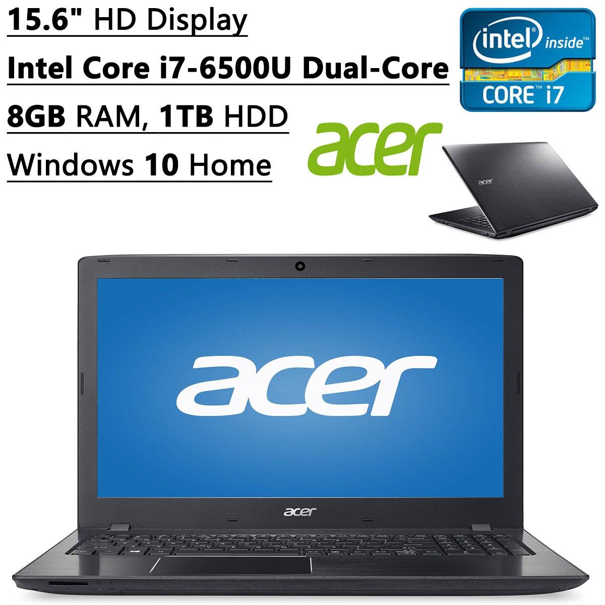acer aspire 15 6 laptop intel core i7 6500u 8gb ram 1tb hdd dvdrw hdmi webcam ebay. Black Bedroom Furniture Sets. Home Design Ideas