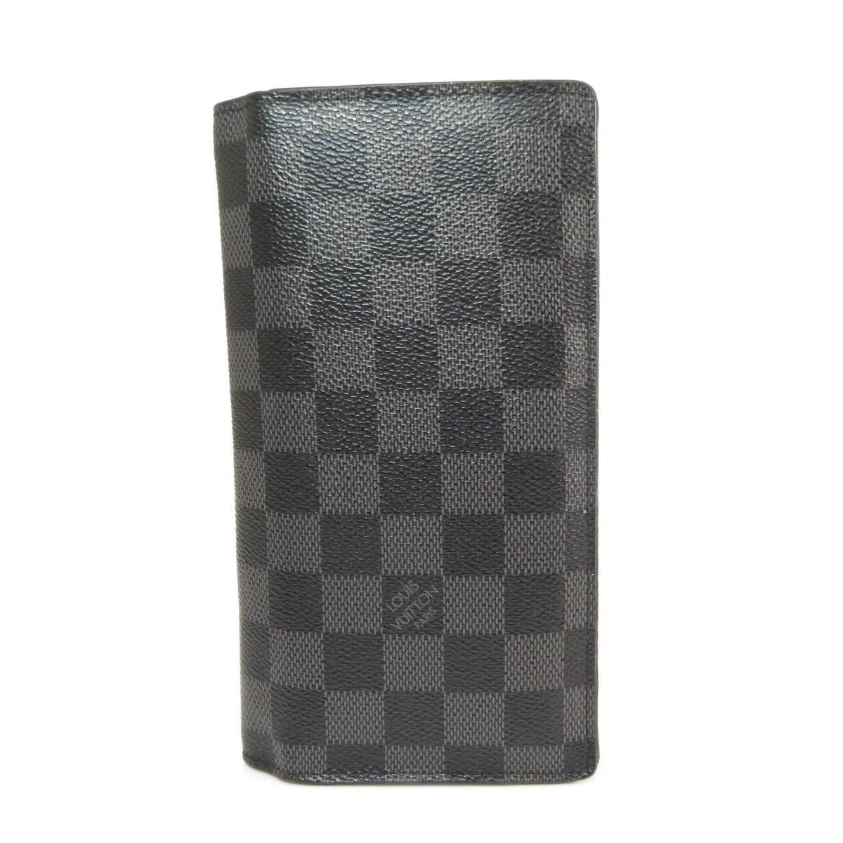 [ルイヴィトン]ポルトフォイユブラザ 長財布(小銭入れあり) ダミエキャンバス メンズ (中古)   B07P1FHBFW