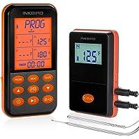 Inkbird IRF-4S Draadloze BBQ Thermometer met 2 Probes voor Smoker Grill Oven Vlees, Waterbestendig,500M, Oplaadbaar…