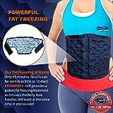 CRYOBOD Fat Freezer Belt - Cold Body Sculpting Kit for Easy Slimming-Body Shaper - Tummy Tuck, Shrink Belt Wrap - Skin-Safe Fat Trimmer to Get Slimmer - For Women and Men