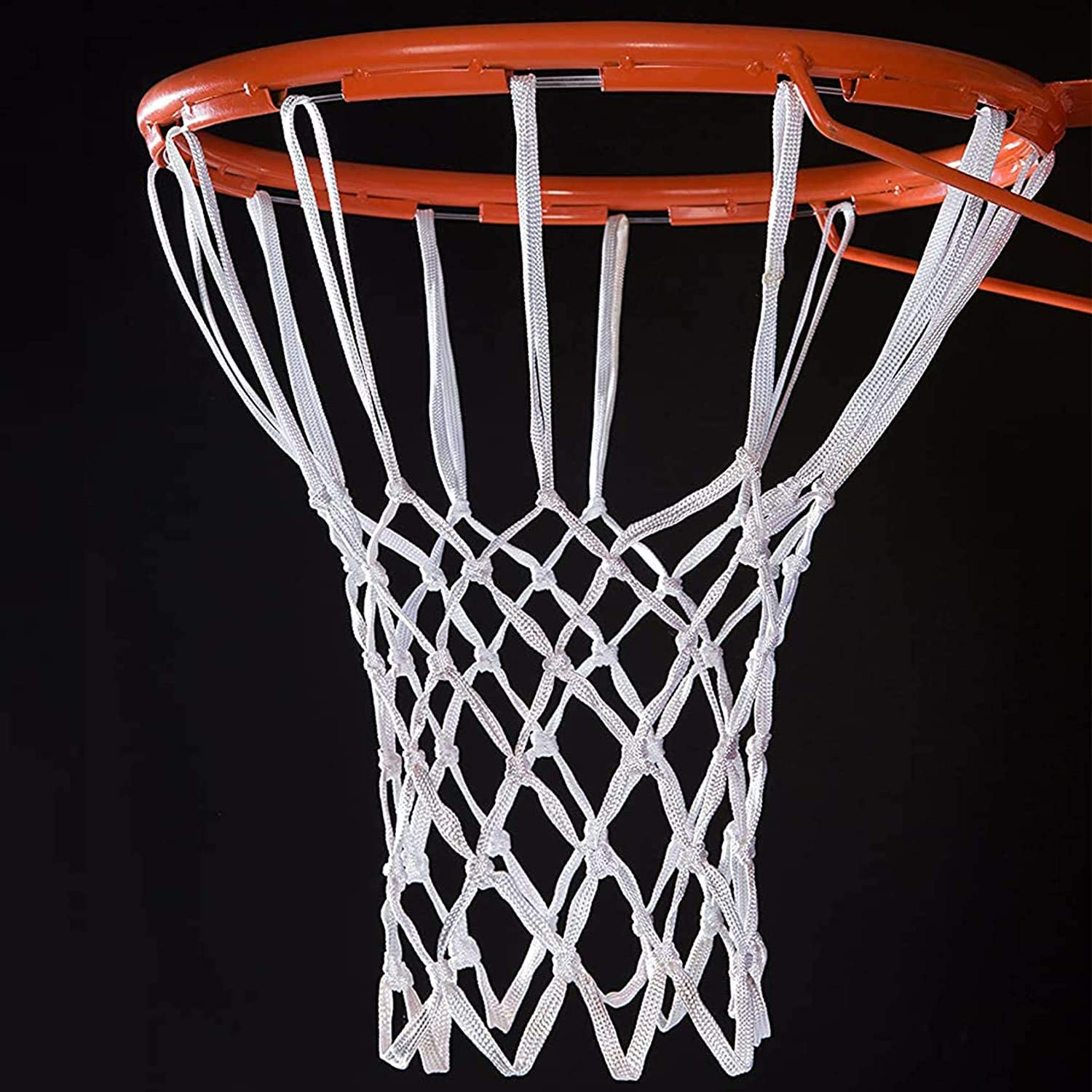 Rqueza Basketball Net Heavy Duty Outdoor All Weather Replacement Basketball Backboard Accessories for Standard Hoop