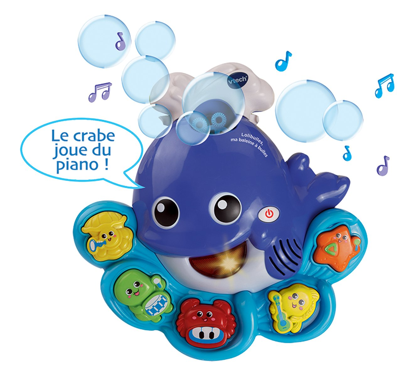 VTech Bubbles the Learning Whale (French Version) V Tech 80146005