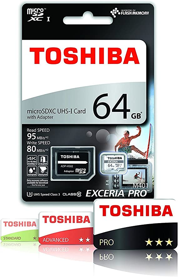 Toshiba Thn M401s0640e2 64 Gb Exceria Pro M401 Computer Zubehör