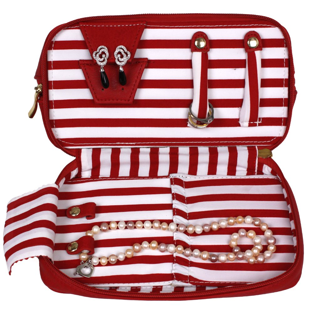 The Weekender Personal Travel Makeup and Jewelry Case Organizer by Bucasi (Image #3)