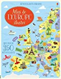 Atlas de l'Europe illustré - Autocollants Usborne