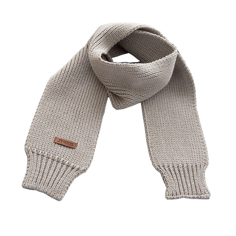 Chihom Kids Scarf Toddler Boys Girls Winter Knitted Warm Wrap Scarfs Neck Warmer with Fashion Looking