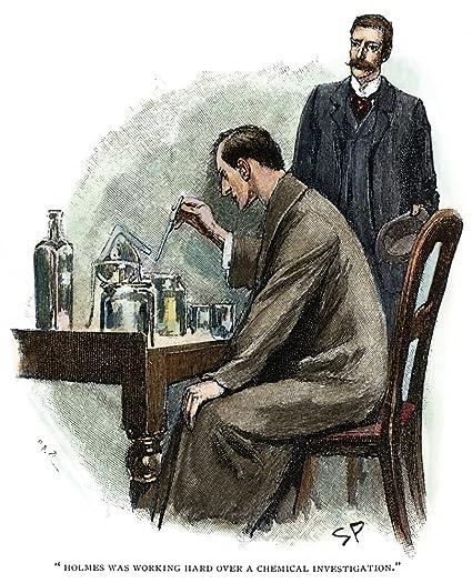Image result for Sherlock Holmes illustration