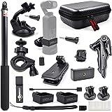 STARTRC OSMO fickexpansionstillbehör kit, handhållna aktionskamerfästen för DJI OSMO-ficka