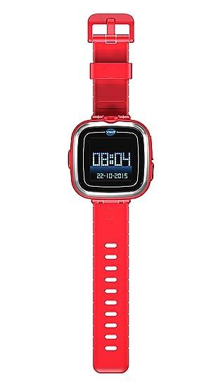 VTech Kidizoom - SmartWatch para niños, Rojo (80-155724) (versión en francés)