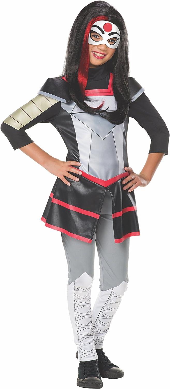 Small Rubies Costume Kids DC Superhero Girls Deluxe Katana Costume