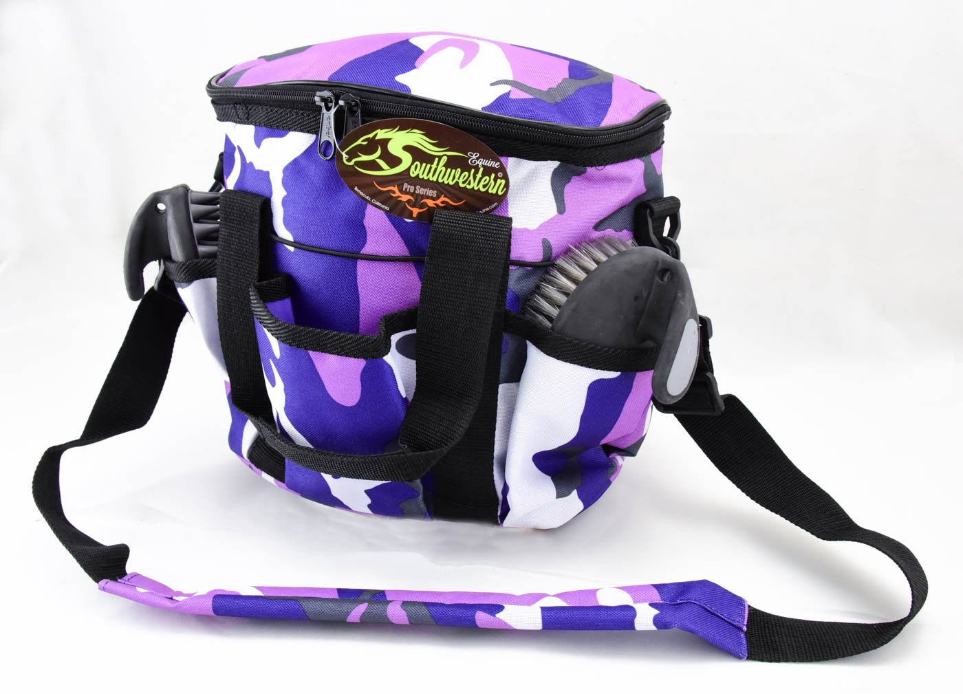 Southwestern Equine Deluxe Grooming Kit (Camo Purple) by Southwestern Equine