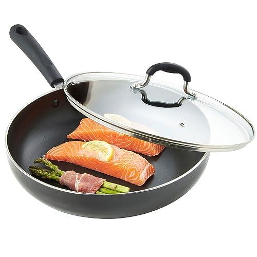 Fry Pan With Lid Amazon Co Uk