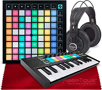 Novation Launchpad Mini USB Midi Controller for Performing and Producing Music w