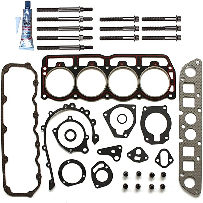 ECCPP Replacement for Head Gasket Set for 97-02 2.5L Dodge Dakota Jeep Cherokee VIN P Engine Head Gaskets Kit