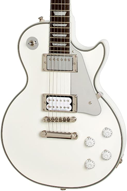 "Epiphone Tommy Thayer""White Lightning"" Signature Les Paul Outfit - Guitarra eléctrica, color"
