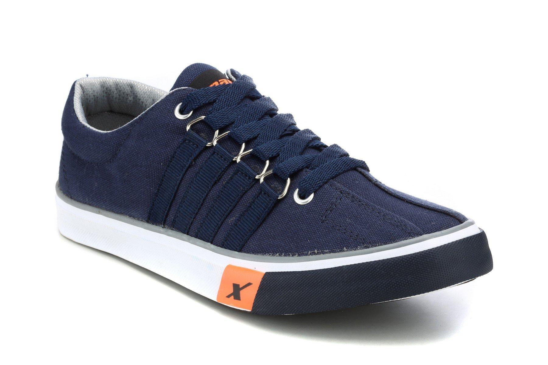 1. Sparx Men's Canvas Sneakers