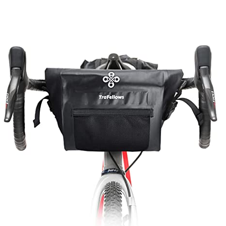 TraFellows Bolsa para Manillar de Bicicleta, espaciosa Bolsa para el Manillar de tu Smartphone, Bolsa para Bicicleta Impermeable para la Parte ...