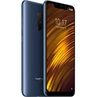 Xiaomi Pocophone F1 Dual SIM 64GB Desbloqueado (Version Global) Azul - compatible con red 3G B5 de 850 MHz. de AT&T, Movistar y Telcel