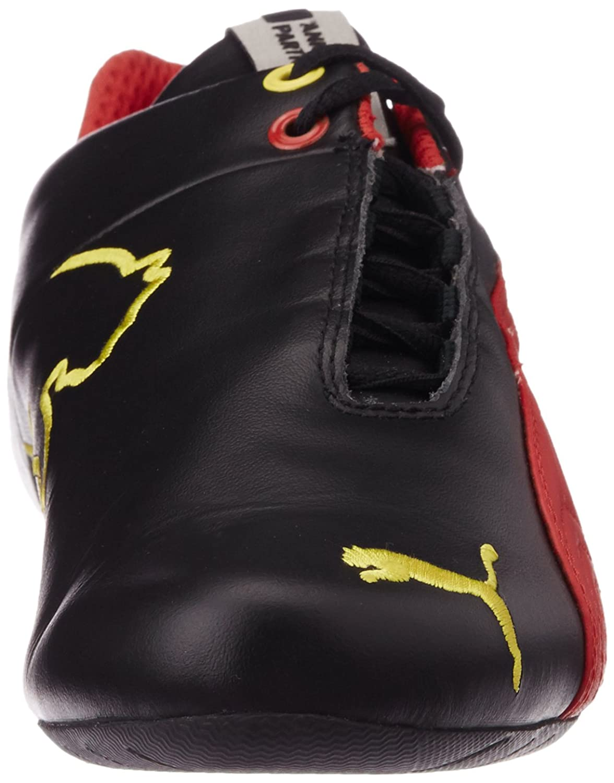 PumaFuturecatlthsff5 - Zapatillas Adultos Unisex, Negro (Black-Rosso Corsa 05), 35.5