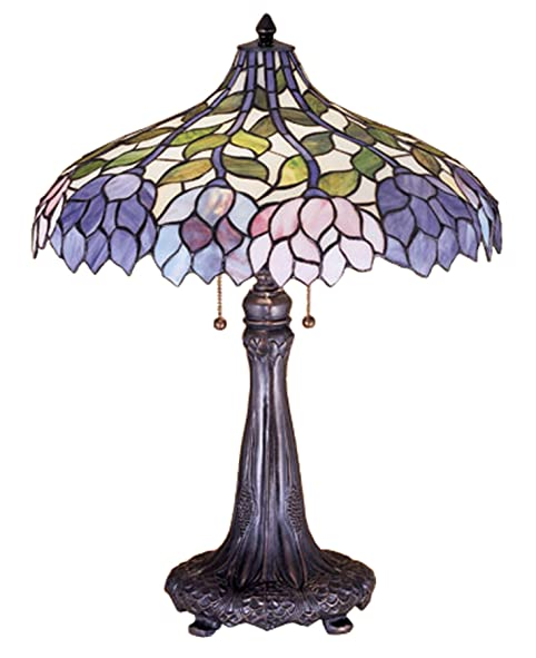 Meyda tiffany 26h wisteria table lamp stained glass table lamp meyda tiffany 26quoth wisteria table lamp aloadofball Choice Image