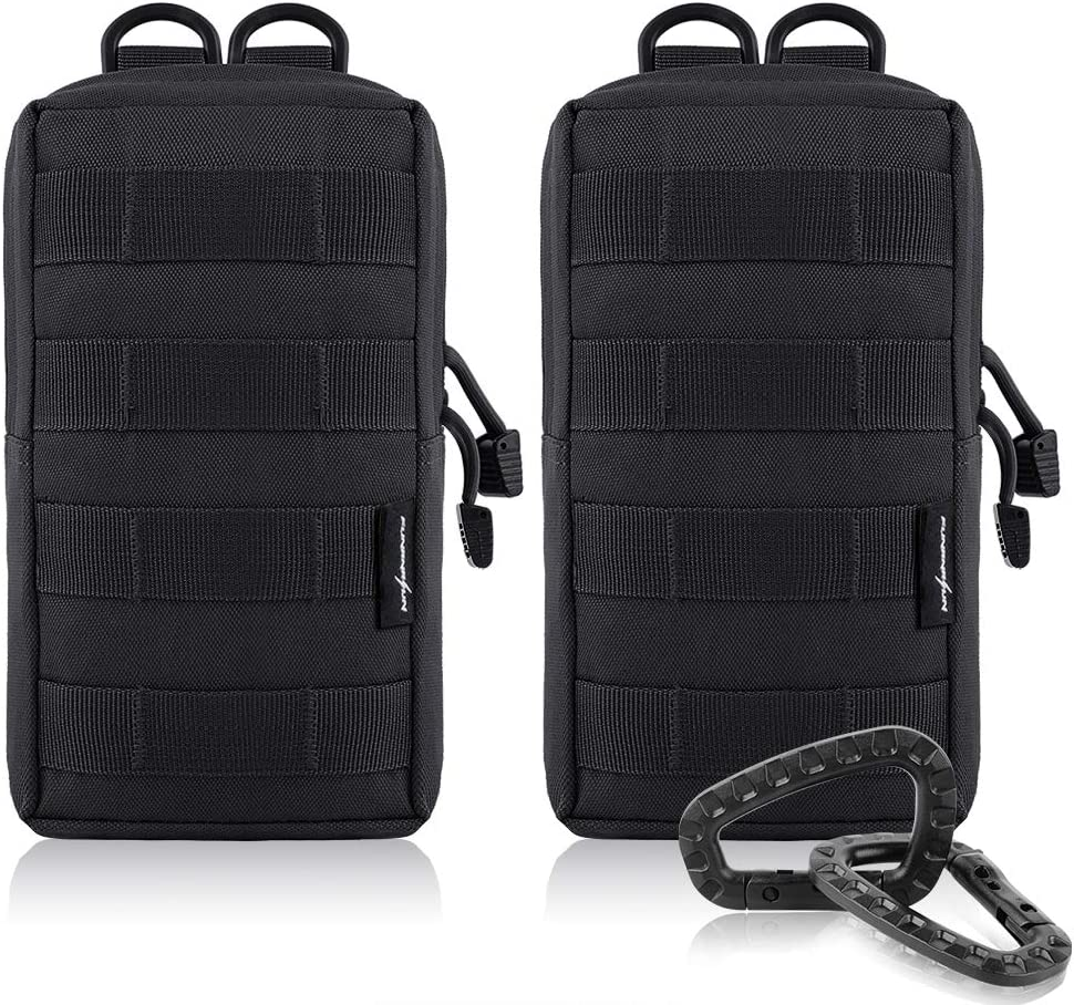 FUNANASUN 2-Pack Molle Bolsas - Tactical Compacto Resistente al ...