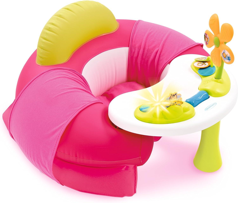 color rosa /Cotoons Baby Asiento con Activity mesa SMOBY 110211/