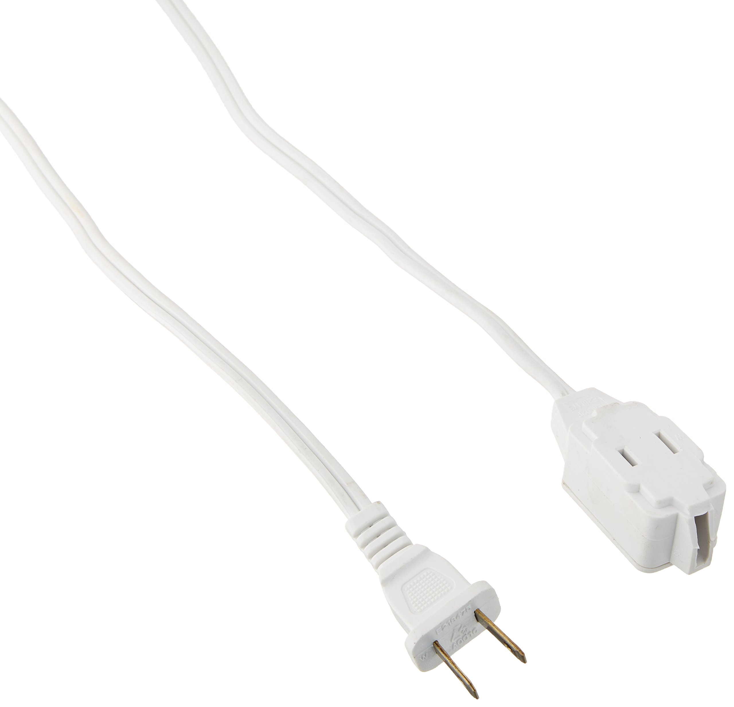 ATE Pro. USA 70037 Extension Cord, 12', 16 Gauge, 2-Prong