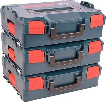 BOSCH Pack 3 Cajas apilables L-Boxx 136: Amazon.es: Bricolaje y ...