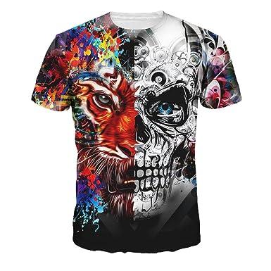 RETUROM -Camisetas Camiseta de los Hombres, Camiseta de la Manga de la Camiseta de