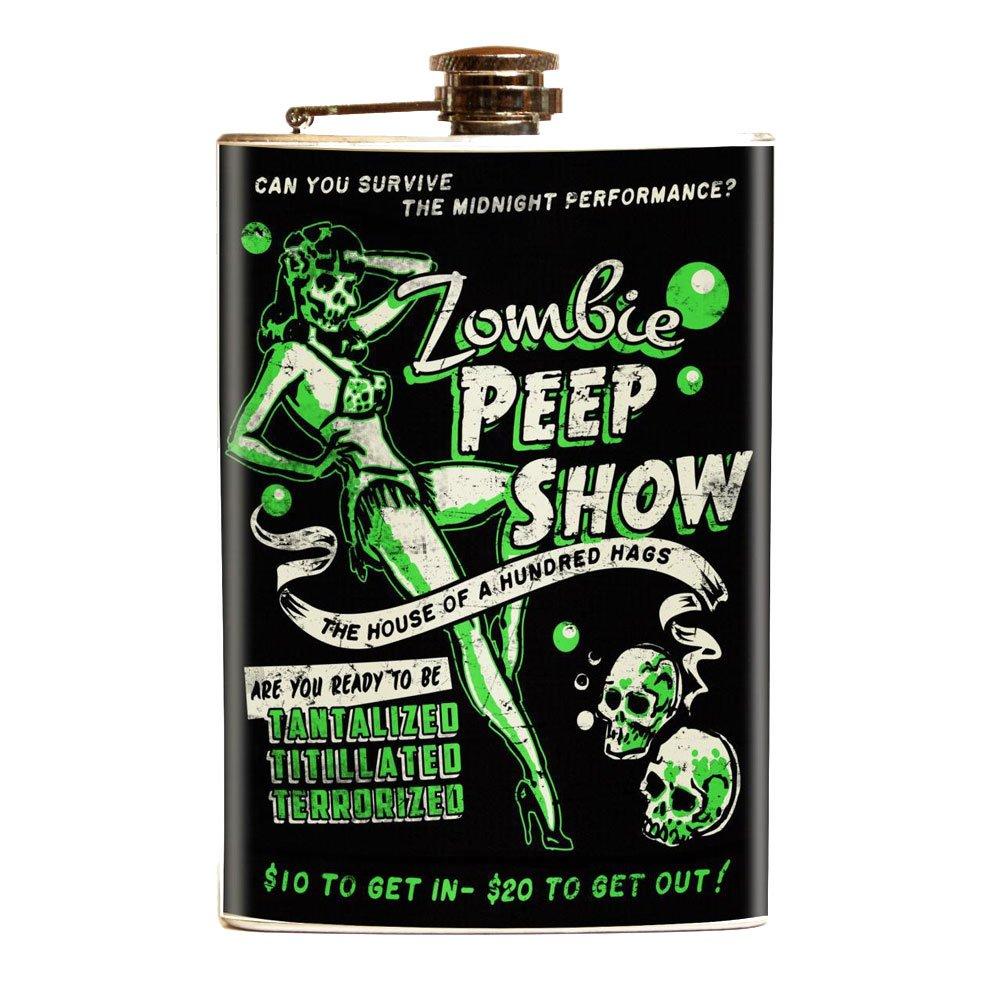 大人の上質  ゾンビPeep ゾンビPeep Show Show Noveltyステンレススチールフラスコ B07D1G7GMQ B07D1G7GMQ, 竹布の店 ベコ:ffaa7bd8 --- vezam.lt