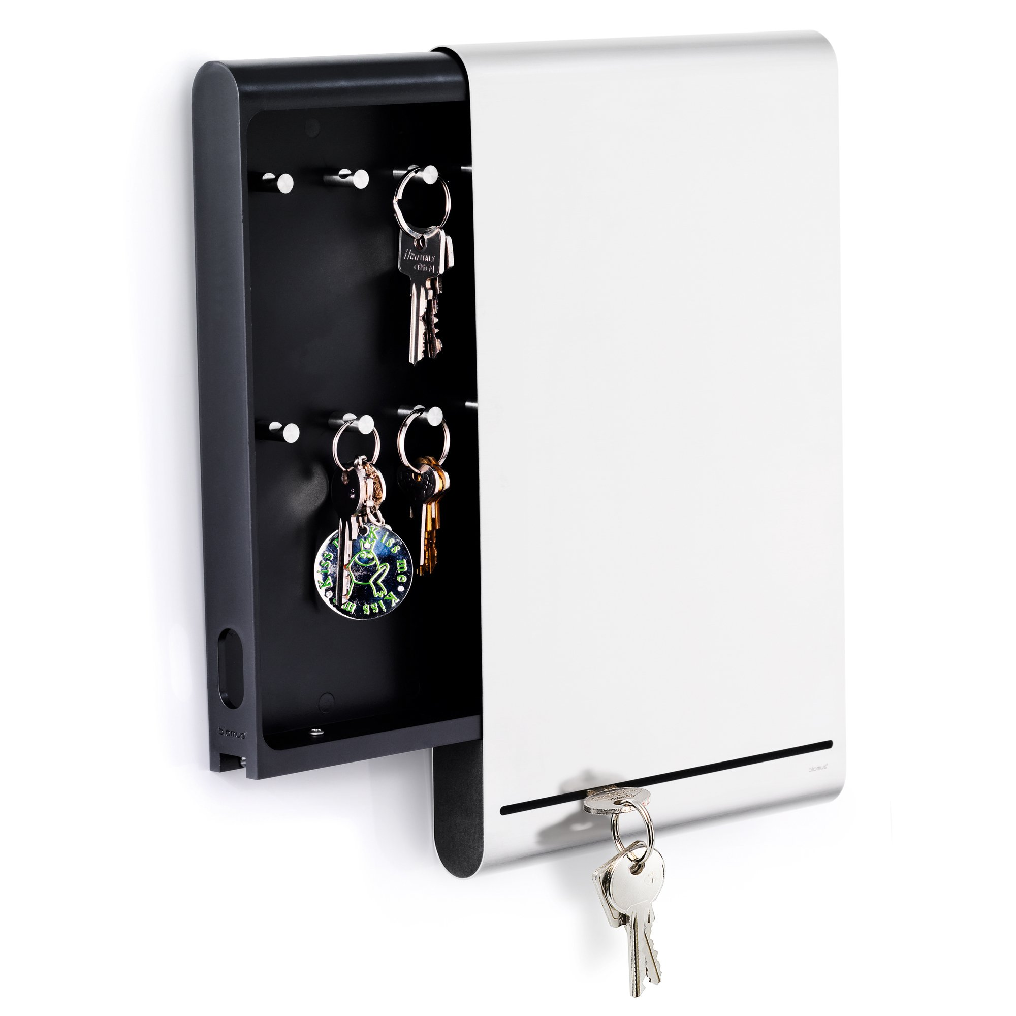 Blomus Stainless Steel Key Box and Magnet Board
