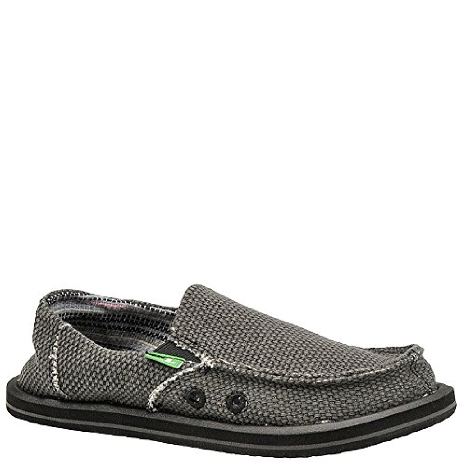 Sanuk Boys' Youth Vagabond Boys Sidewalk Surfer Black 6 & Oxy Cleaner Bundle