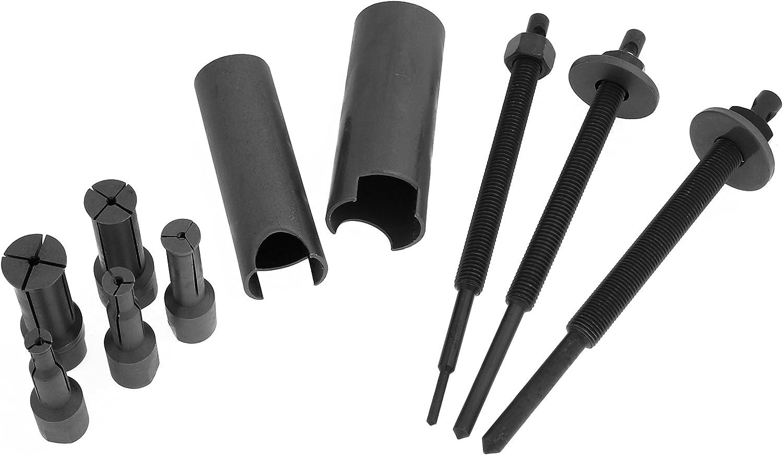 Extractores de rodamientos de moto, herramienta de desmontaje de ocho piezas de rodamiento interno
