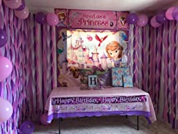 Amazon.com: Disney Sofia The First Princess Birthday Party