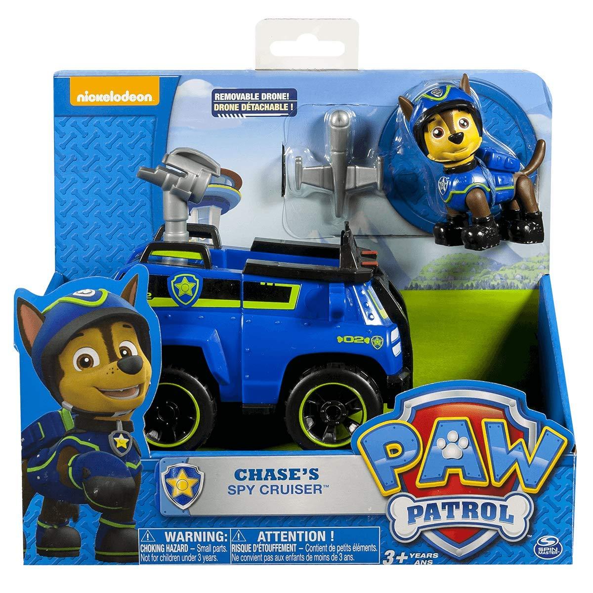 PAW PATROL Action-Figur Fahrzeug Chase /& Spy Cruiser