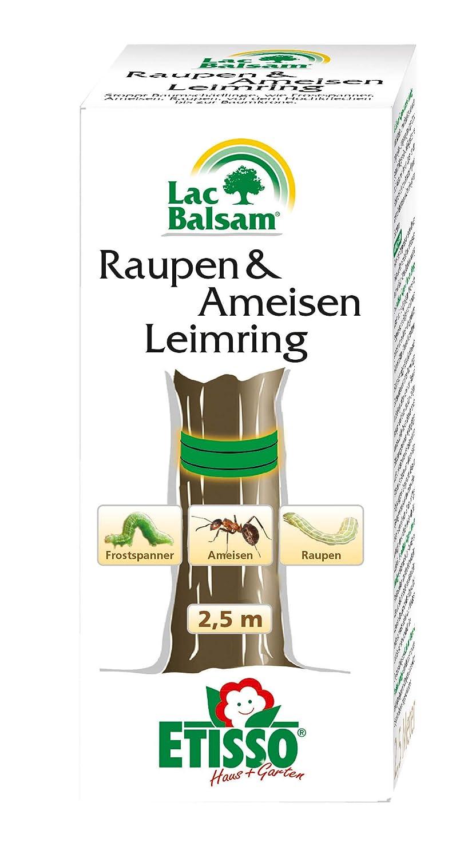 ETISSO® 1380-909 LacBalsam® Raupen & Ameisen Leimring gebrauchsfertig, 5 Meter