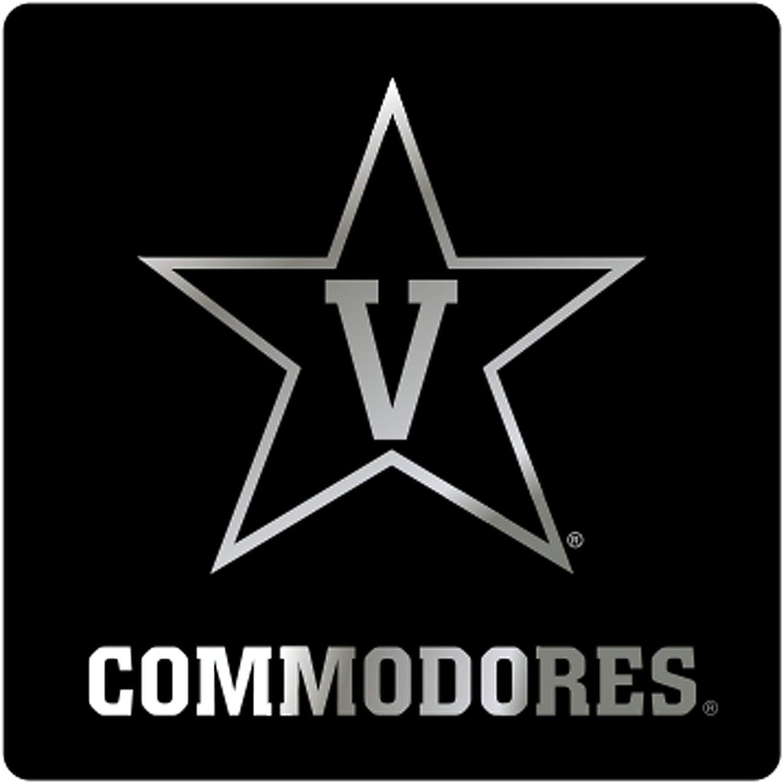 """3/"""" PREMIUM VINYL DECAL SET OF 2 LICENSED NCAA VANDERBILT COMMODORES"""