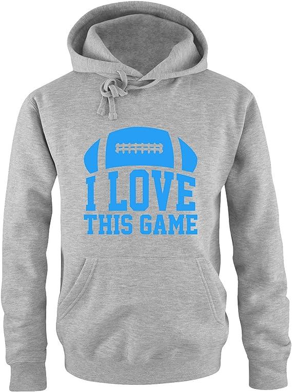 Comedy Shirts I Love This Game Football Herren Hoodie