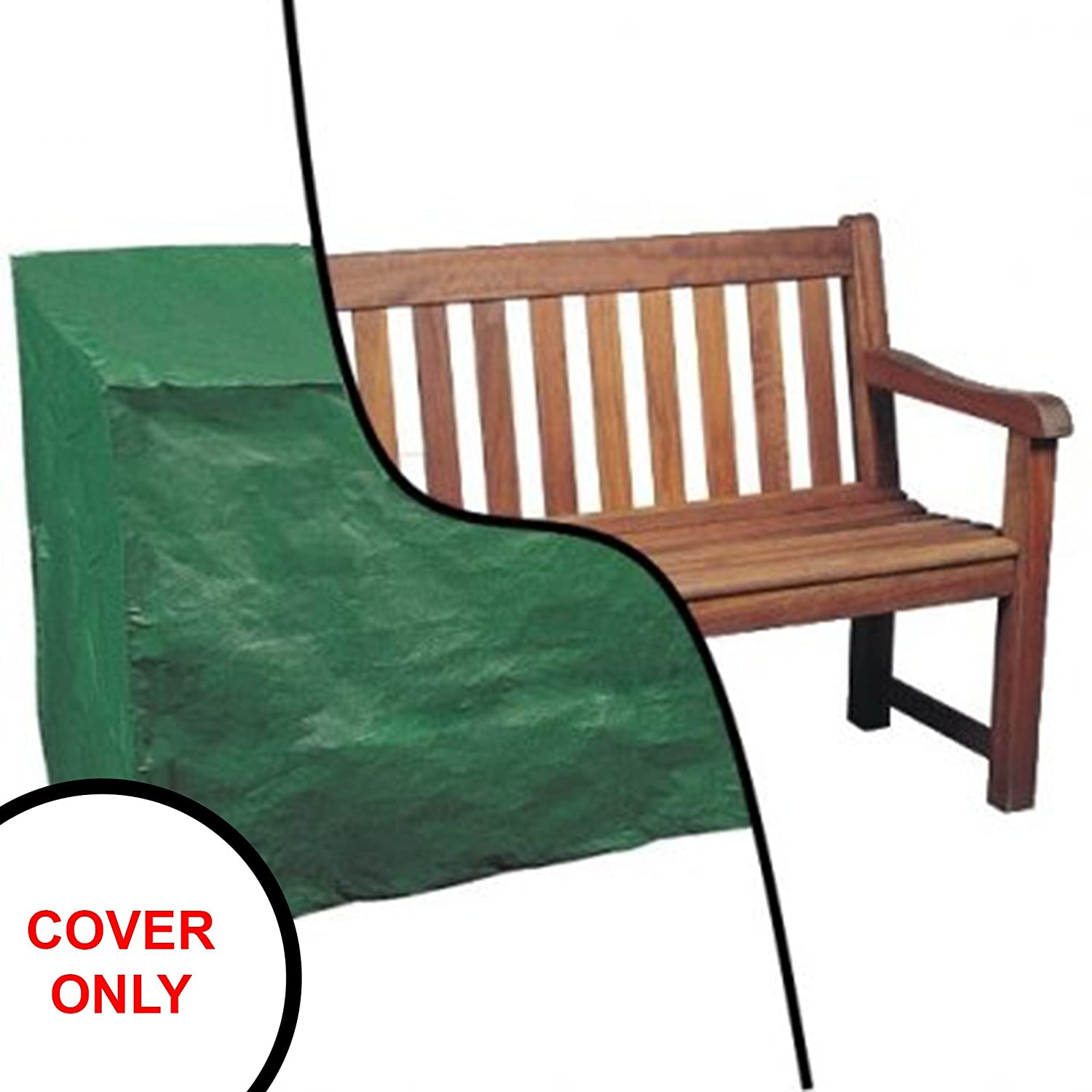 Oypla Waterproof 6ft 1.8m Garden Furniture 4 Seater Bench Seat Cover 3779OYP