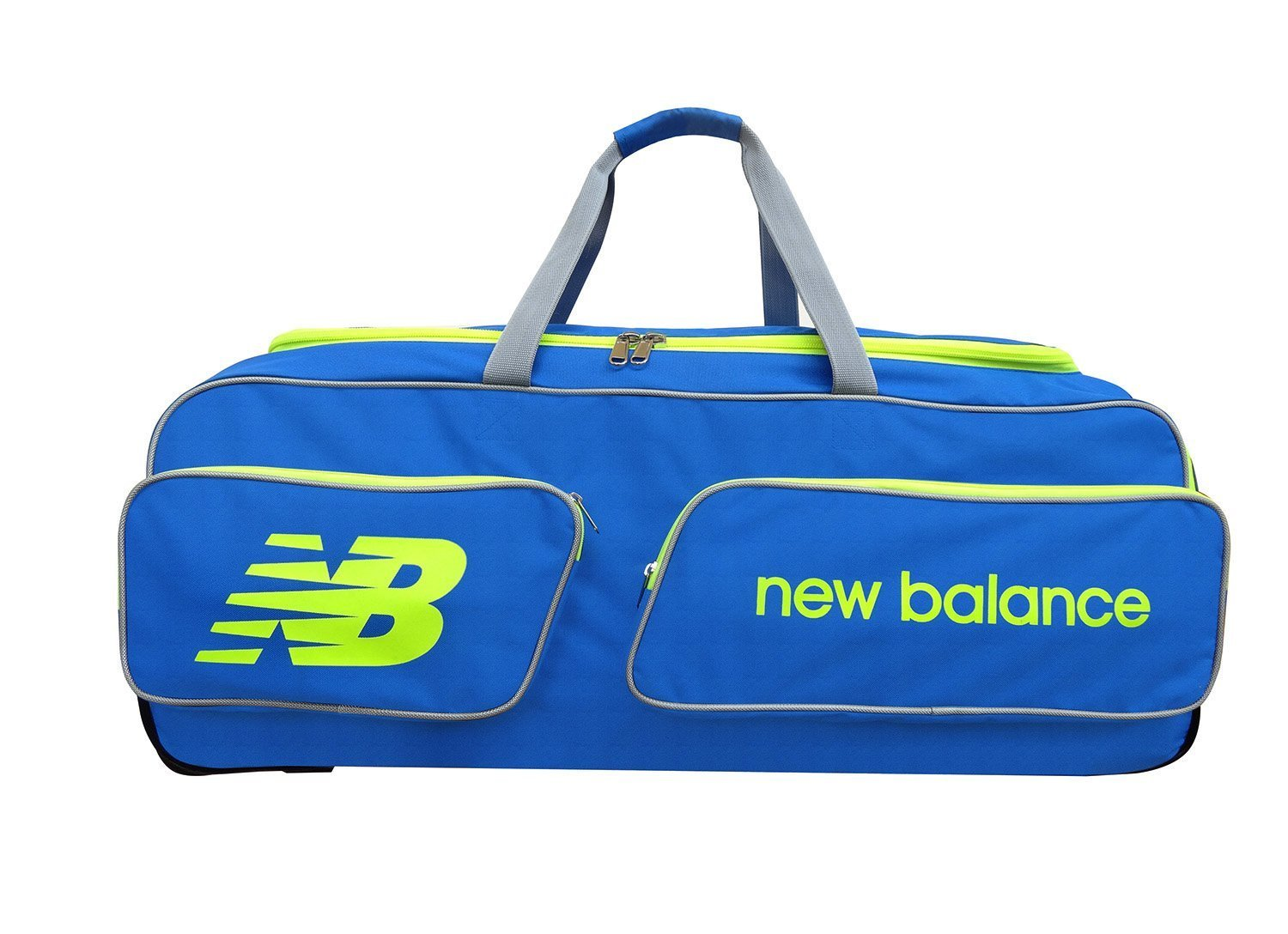 5a980e151e CW New Balance Team Equipment Cricket Kit Bag Blue Sports Carry Big Large  Size Bag With Heavy Duty Wheels Ideal For Club