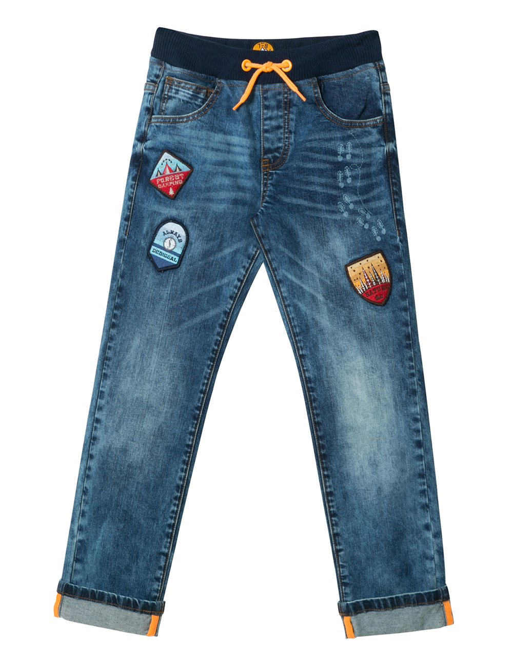 Desigual Denim_parches, Jeans Bambino